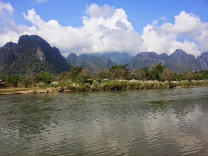 Vang Vieng- 31st October to 5th November