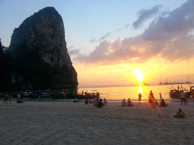 Railay Bay- 8th- 10th December
